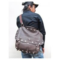 China OBBI GOOD LABEL 9981 MTC LEATHER SADDLE BAG on sale
