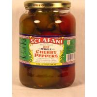 Quality Peppers Hot Cherry Peppers- 32oz jar for sale