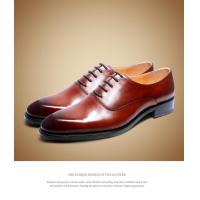 China Oxford shoe men's leather shoes【1433025】 on sale