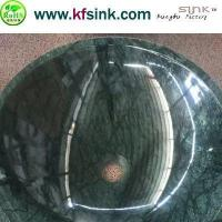 Quality Indian Green Marble Sink Bowl for sale