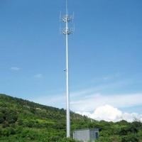 Buy cheap 25m Monopole Antenna Telecom Tower from wholesalers