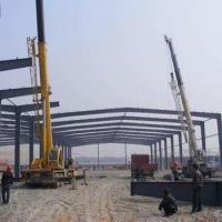 Buy cheap large span H section steel structure for warehouse/factory/office from wholesalers
