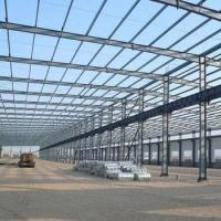 Buy cheap Galvanized or Painted Prefabricated H Section Steel Structure from wholesalers