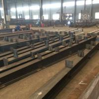 Buy H beam section steel fabrication structural steel structure at wholesale prices