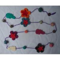 Quality Handmade Felt Products Felt necklaces for sale