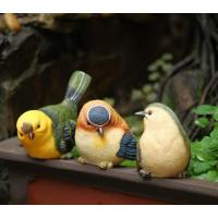 Quality craft and craft Resin Cute Small Bird Figurine Ornament for sale