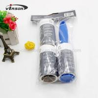 Quality 50sheets Tearable Custom Printed lint roller and Refills Set Admin Edit for sale