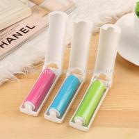 Quality Plastic travel foldable pocket silicone sticky washable min lint roller Admin Edit for sale