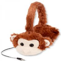 factory supply plush Monkey headphone for Kids