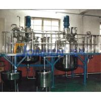Quality Ingredient emulsifying tank for sale
