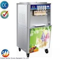 Five flavors soft italian ice cream making machine