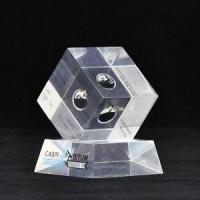 Embedded acrylic display,Clear oil paperweight,Crystal oil stands