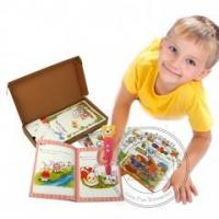 China Popular and Famous Illustrations Story Books with Audio Pen Children's English Reader on sale