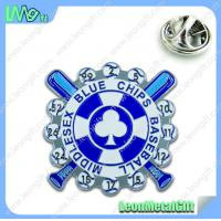Quality Fashionable lapel pin, hot selling metal badge for sale