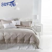 Quality cotton white bedding set cheap Duvet Cover textile for sale