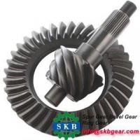 Custom Different Dimensions Hypoid Spiral Bevel Gears