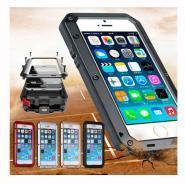 Case for iPhone Extreme duty shockproof waterproof gorrila case for iPhone 6 metal skin