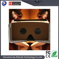 Customized phone 3D glass google cardboard VRII Holiday gifts Souvenirs