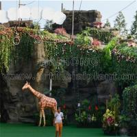 China artificial landscaping sculptures and rockery and fiberglass statues on sale