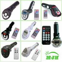 Quality Car MP3 FM Transmitters, Car MP3 Players, Car MP4 Players for sale